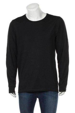 Мъжка спортна блуза Essentials by Tchibo, Размер XL, Цвят Черен, 97% полиестер, 3% еластан, Цена 9,18лв.