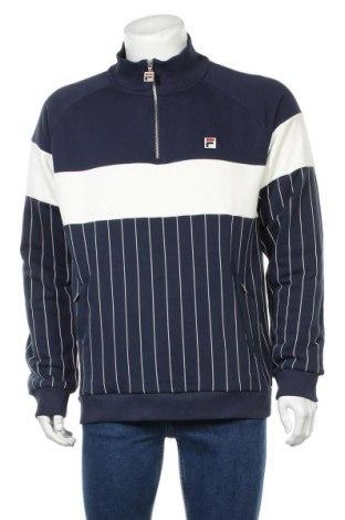 Ανδρική αθλητική μπλούζα Fila, Μέγεθος L, Χρώμα Μπλέ, 65% βαμβάκι, 35% πολυεστέρας, Τιμή 24,90€