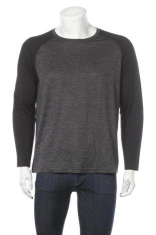 Мъжка спортна блуза Shamp, Размер XL, Цвят Сив, 95% полиестер, 5% еластан, Цена 18,90лв.
