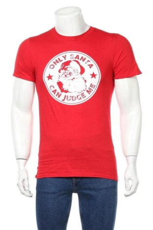 Мъжка тениска, Размер S, Цвят Червен, Памук, Цена 19,50лв.