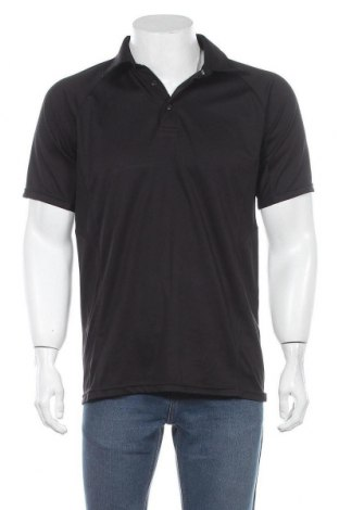 Мъжка тениска Abacus, Размер L, Цвят Черен, Полиестер, Цена 21,84лв.