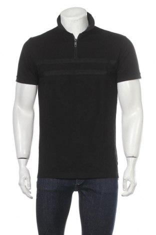 Мъжка тениска Antony Morato, Размер L, Цвят Черен, Памук, Цена 28,35лв.