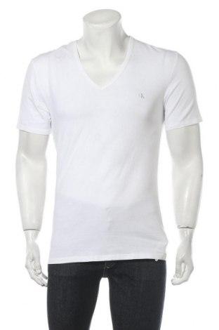 Pánské tričko  Calvin Klein, Velikost M, Barva Bílá, 95% bavlna, 5% elastan, Cena  405,00Kč