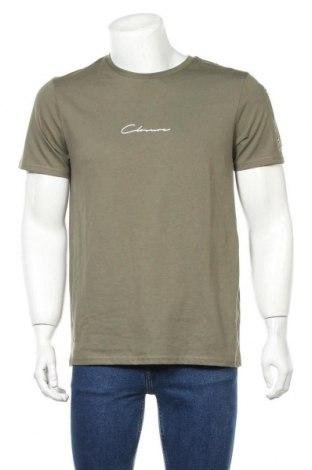 Мъжка тениска Closure, Размер M, Цвят Зелен, Памук, Цена 29,25лв.