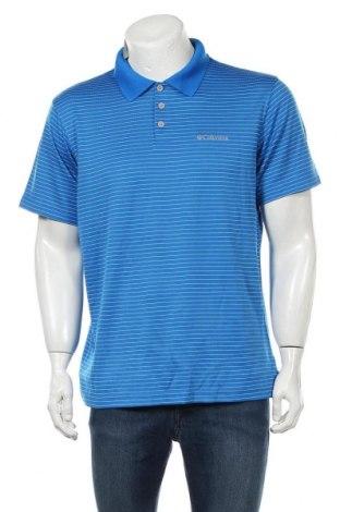 Мъжка тениска Columbia, Размер L, Цвят Син, Полиестер, Цена 33,92лв.