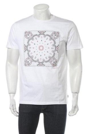 Ανδρικό t-shirt Esprit, Μέγεθος M, Χρώμα Λευκό, Βαμβάκι, Τιμή 11,47€