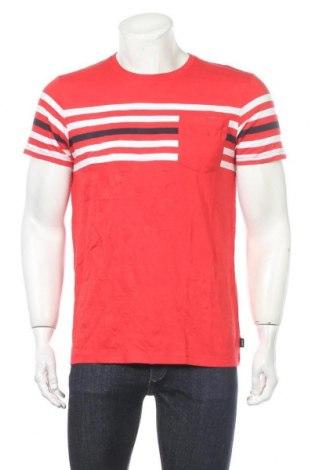 Мъжка тениска Esprit, Размер M, Цвят Червен, Памук, Цена 25,50лв.