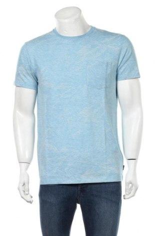 Мъжка тениска Esprit, Размер M, Цвят Син, 57% памук, 43% полиестер, Цена 29,25лв.