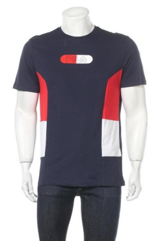 Ανδρικό t-shirt Fila, Μέγεθος M, Χρώμα Πολύχρωμο, Βαμβάκι, Τιμή 14,07€