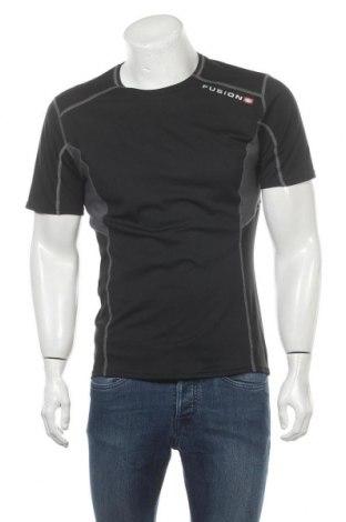 Мъжка тениска Fusion, Размер L, Цвят Черен, Цена 18,90лв.
