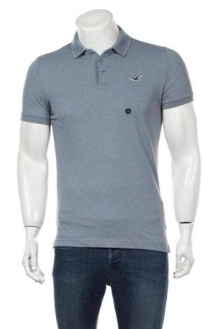 Ανδρικό t-shirt Hollister, Μέγεθος S, Χρώμα Μπλέ, 59% βαμβάκι, 39% πολυεστέρας, 2% ελαστάνη, Τιμή 10,82€