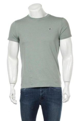 Ανδρικό t-shirt Hollister, Μέγεθος S, Χρώμα Πράσινο, Βαμβάκι, Τιμή 12,37€