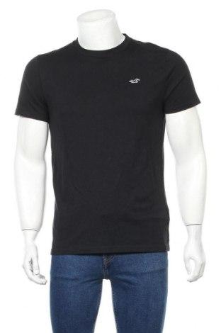 Ανδρικό t-shirt Hollister, Μέγεθος M, Χρώμα Μαύρο, Βαμβάκι, Τιμή 12,37€