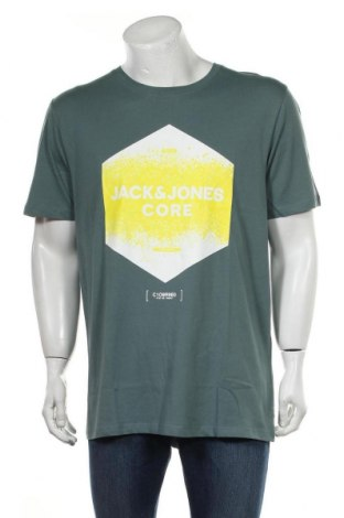 Ανδρικό t-shirt Jack & Jones, Μέγεθος XXL, Χρώμα Πράσινο, Βαμβάκι, Τιμή 11,37€