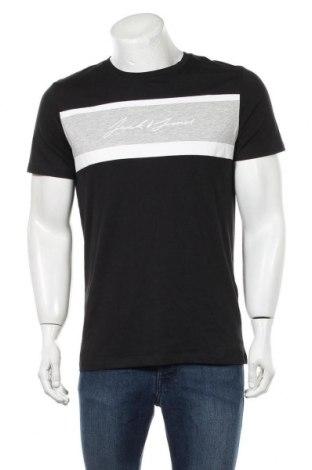 Tricou de bărbați Jack & Jones, Mărime M, Culoare Negru, Bumbac, Preț 68,09 Lei