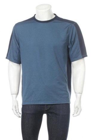 Мъжка тениска L.L. Bean, Размер L, Цвят Син, Полиестер, Цена 7,56лв.