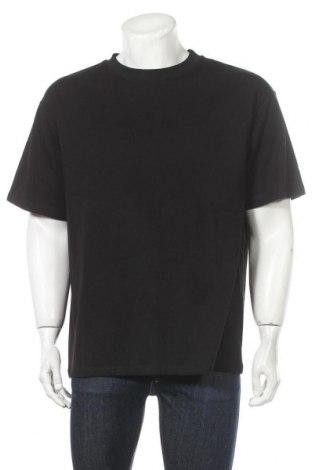 Мъжка тениска Lindex, Размер S, Цвят Черен, Памук, Цена 36,00лв.