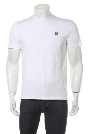 Ανδρικό t-shirt Lyle & Scott, Μέγεθος M, Χρώμα Λευκό, Βαμβάκι, Τιμή 9,12€