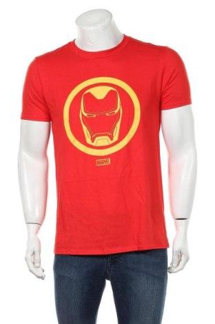 Ανδρικό t-shirt Marvel, Μέγεθος M, Χρώμα Κόκκινο, Βαμβάκι, Τιμή 10,21€