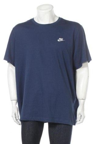 Tricou de bărbați Nike, Mărime XXL, Culoare Albastru, Bumbac, Preț 145,56 Lei