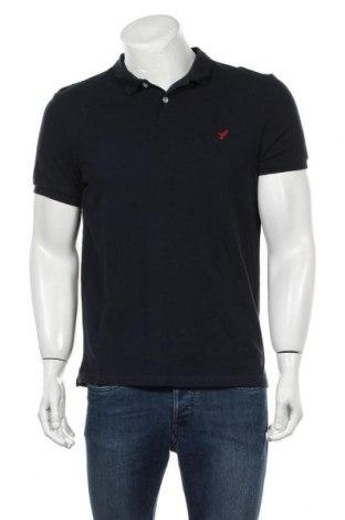 Мъжка тениска Pier One, Размер M, Цвят Син, Памук, Цена 19,50лв.