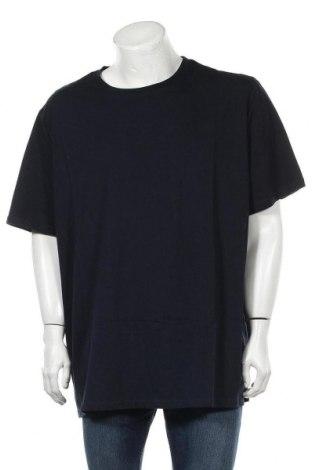 Мъжка тениска Pier One, Размер 5XL, Цвят Син, Памук, Цена 19,50лв.