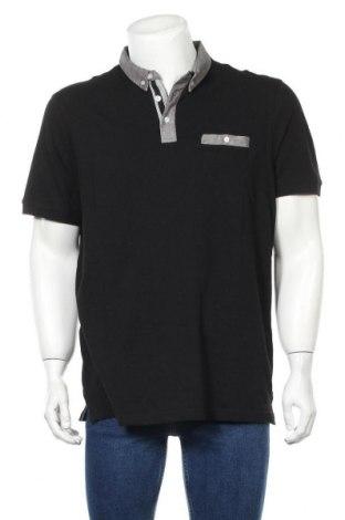 Мъжка тениска Pier One, Размер XXL, Цвят Черен, Памук, Цена 25,50лв.