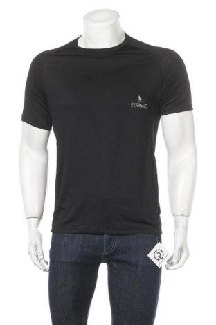 Мъжка тениска Polo By Ralph Lauren, Размер L, Цвят Черен, 92% полиестер, 8% еластан, Цена 23,94лв.