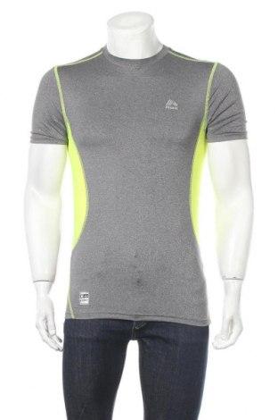 Мъжка тениска Rbx, Размер M, Цвят Сив, 92% полиестер, 8% еластан, Цена 15,96лв.