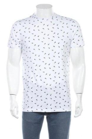 Tricou de bărbați Review, Mărime M, Culoare Alb, 60% bumbac, 40% poliester, Preț 67,10 Lei