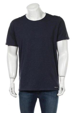 Мъжка тениска Teddy Smith, Размер XXL, Цвят Син, Памук, Цена 21,75лв.