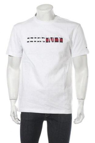 Ανδρικό t-shirt Tommy Hilfiger, Μέγεθος M, Χρώμα Λευκό, Βαμβάκι, Τιμή 30,54€