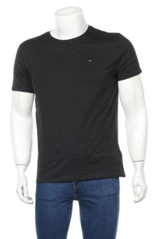 Ανδρικό t-shirt Tommy Hilfiger, Μέγεθος S, Χρώμα Μαύρο, Βαμβάκι, Τιμή 30,54€