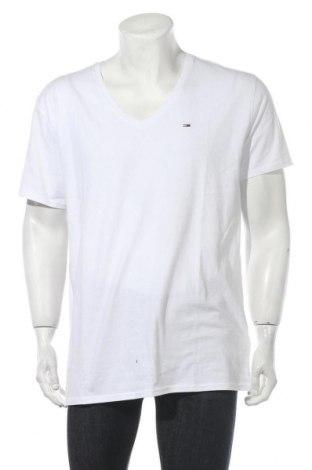 Ανδρικό t-shirt Tommy Hilfiger, Μέγεθος XXL, Χρώμα Λευκό, Βαμβάκι, Τιμή 30,54€