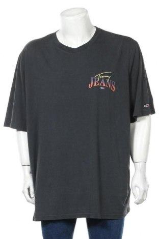 Ανδρικό t-shirt Tommy Hilfiger, Μέγεθος 4XL, Χρώμα Γκρί, Βαμβάκι, Τιμή 30,54€