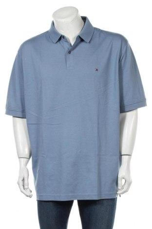 Ανδρικό t-shirt Tommy Hilfiger, Μέγεθος XL, Χρώμα Μπλέ, 96% βαμβάκι, 4% ελαστάνη, Τιμή 34,41€