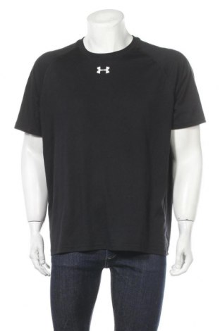 Мъжка тениска Under Armour, Размер XL, Цвят Черен, Полиестер, Цена 24,94лв.