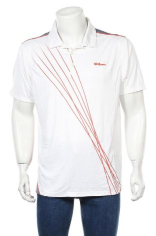 Мъжка тениска Wilson, Размер XXL, Цвят Бял, Полиестер, Цена 18,90лв.