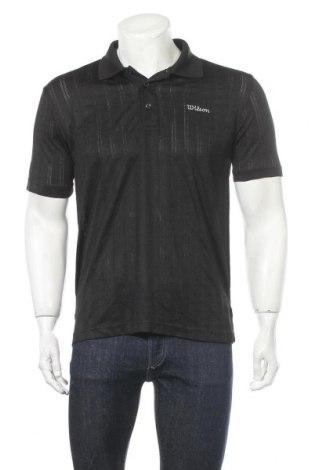 Мъжка тениска Wilson, Размер S, Цвят Черен, Полиестер, Цена 16,07лв.