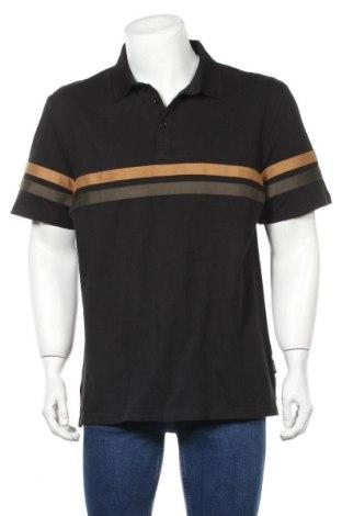 Мъжка тениска Zign, Размер XXL, Цвят Черен, Памук, Цена 24,00лв.