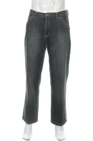 Мъжки дънки Angelo Litrico, Размер L, Цвят Син, Памук, Цена 26,25лв.