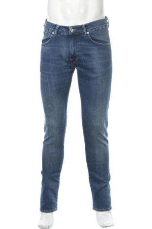 Мъжки дънки Edwin, Размер M, Цвят Син, 99% памук, 1% еластан, Цена 134,25лв.