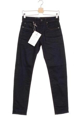 Мъжки дънки G-Star Raw, Размер XS, Цвят Син, 80% памук, 18% полиестер, 2% еластан, Цена 39,42лв.