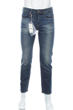 Мъжки дънки G-Star Raw, Размер S, Цвят Син, 98% памук, 2% еластан, Цена 153,30лв.