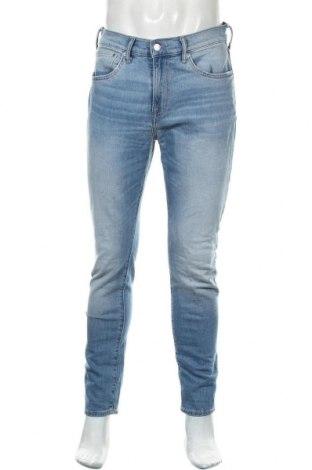 Мъжки дънки H&M, Размер M, Цвят Син, Цена 10,92лв.
