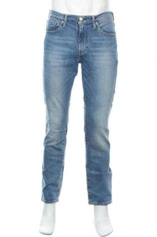Мъжки дънки Levi's, Размер M, Цвят Син, 99% памук, 1% еластан, Цена 51,87лв.