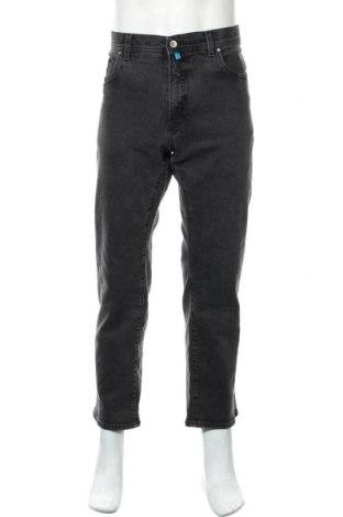 Мъжки дънки Pierre Cardin, Размер XL, Цвят Черен, 75% памук, 17% полиестер, 7% вискоза, 1% еластан, Цена 13,23лв.