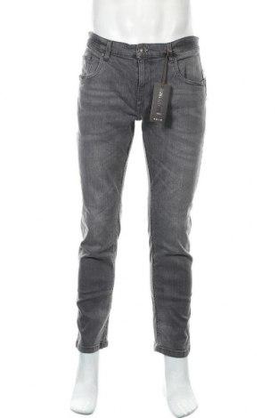 Мъжки дънки Takko Fashion, Размер L, Цвят Сив, 99% памук, 1% еластан, Цена 28,98лв.