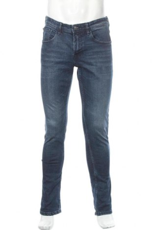 Мъжки дънки Tom Tailor, Размер M, Цвят Син, 99% памук, 1% еластан, Цена 19,75лв.