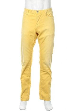 Ανδρικό τζίν Tommy Hilfiger, Μέγεθος L, Χρώμα Κίτρινο, Βαμβάκι, ελαστάνη, Τιμή 27,28€